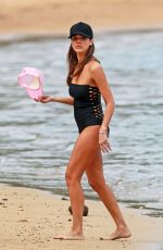 JESSICA ALBA in Swimsuit at a Beach in Hawaii 12/28/2016