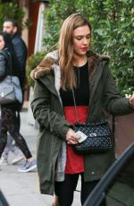 JESSICA ALBA Out Shopping in Beverly Hills 12/22/2016