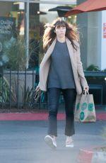 JESSICA BIEL Out Shopping in Santa Monica 12/16/2016