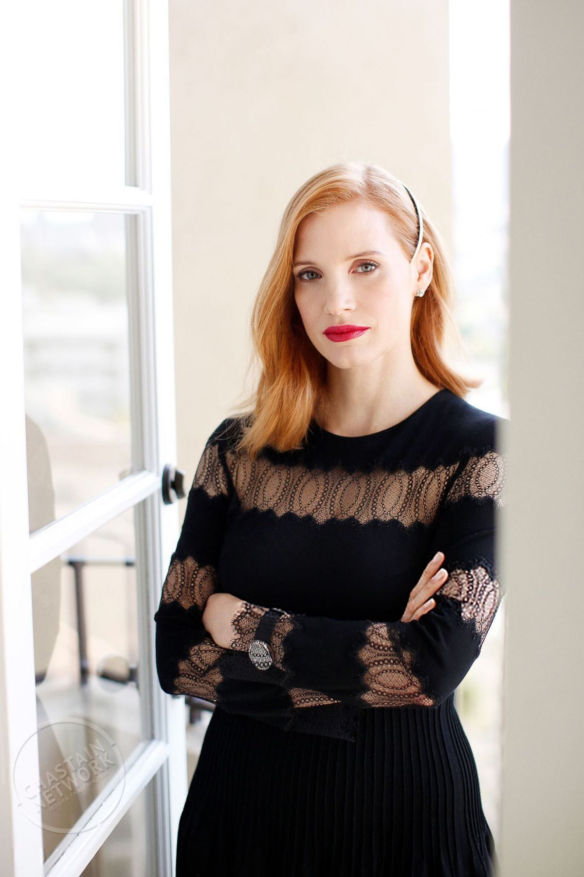 JESSICA CHASTAIN for LA Times, December 2016