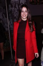 JESSICA LOWNDES at Catch LA in West Hollywood 12/16/2016