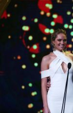 JESSICA MARAIS at 6th Aacta Awards in Sydney 07/12/2016