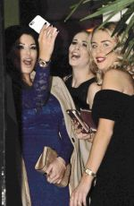 JESSICA WRIGHT and LYDIA BRIGHT at Neighbourhood Restaurant in Liverpool 12/10/2016
