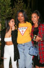 JHENE AIKO and KEKE PALMER at Delilah in West Hollywood 12/07/2016