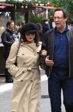 JOAN COLLINS Out for Shopping in Los Angeles 12/23/2016