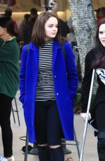 JOEY KING Out for Shopping in Los Angeles 12/16/2016