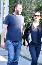 JORDANA BREWSTER and Andrew Form Shopping at Barneys New York in Beverly Hills 12/28/2016