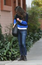 JORDANA BREWSTER at Kindergarten in Los Angeles 12/08/2016