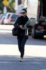 JORDANA BREWSTER Out and About in Hollywood 12/28/2016