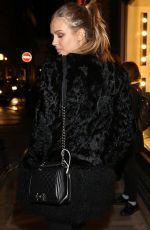 JOSEPHINE SKRIVER Night Out in Paris 11/29/2016