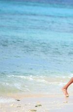 JOURDAN DUNN in Bikini at a Beach in Barbados 12/24/2016