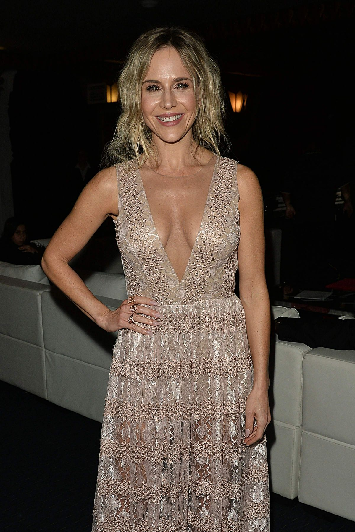 JULIE BENZ at 3rd Annual Cinefashion Film Awards in Beverly Hills 12/15/2016