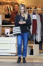 JULIE BENZ Out Shopping in Beverly Hills 12/09/2016