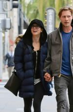 KALEY CUOCO and Karl Cook Out Shopping in Beverly Hills 12/07/2016