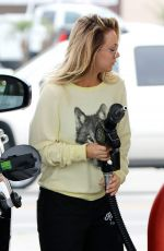 KALEY CUOCO at a Gas Station in Los Angeles 12/13/2016