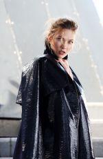 KARLIE KLOSS on the Set of David Jones Commercial in Sydney 12/13/2016