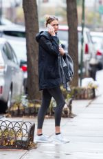 KARLIE KLOSS Out in West Village in New York 12/18/2016
