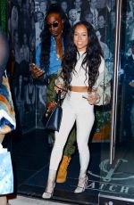 KARREUCHE TRAN at Catch LA in West Hollywood 12/29/2016