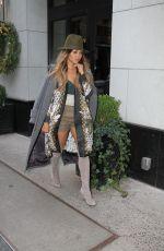 KAT GRAHAM Leaves Her Apartment in New York 12/19/2016
