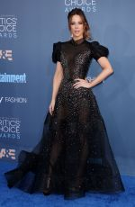 KATE BECKINSALE at 22nd Annual Critics