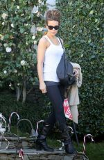 KATE BECKINSALE Leaves Her Home in Los Angeles 12/29/2016