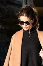 KATE BECKINSALE Out Shopping in Beverly Hills 12/19/2016