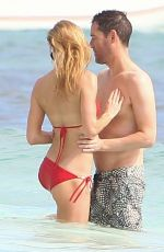 KATE BOSWORTH in Bikini on the Beach in Mexico 12/29/2016