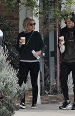 KATE MARA and Jamie Bell Out in Silver Lake 12/10/2016