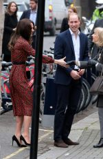 KATE MIDDLETON Arrives at Harrow Club in West London 12/19/2016