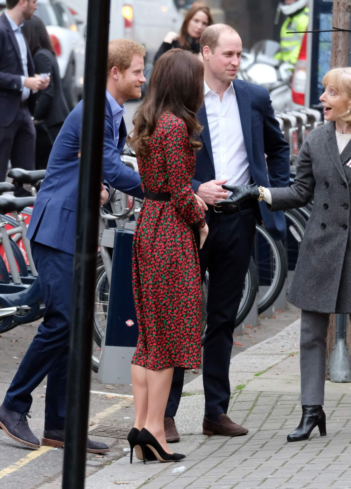 Kate Middleton Arrives At Harrow Club In West London 12192016