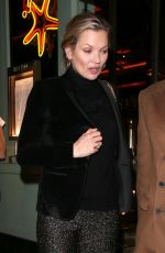 KATE MOSS Out in London 12/14/2016