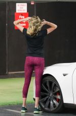 KATE UPTON at a Gym in Beverly Hills 12/01/2016