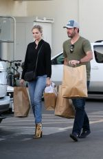 KATE UPTON Out Shopping in Burbank 12/04/2016