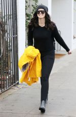 KATHERINE SCHWARZENEGGER Out Shopping in Beverly Hills 12/23/2016