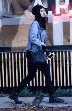 KATHERINE SCHWARZENEGGER Out Shopping in Los Angeles 12/16/2016