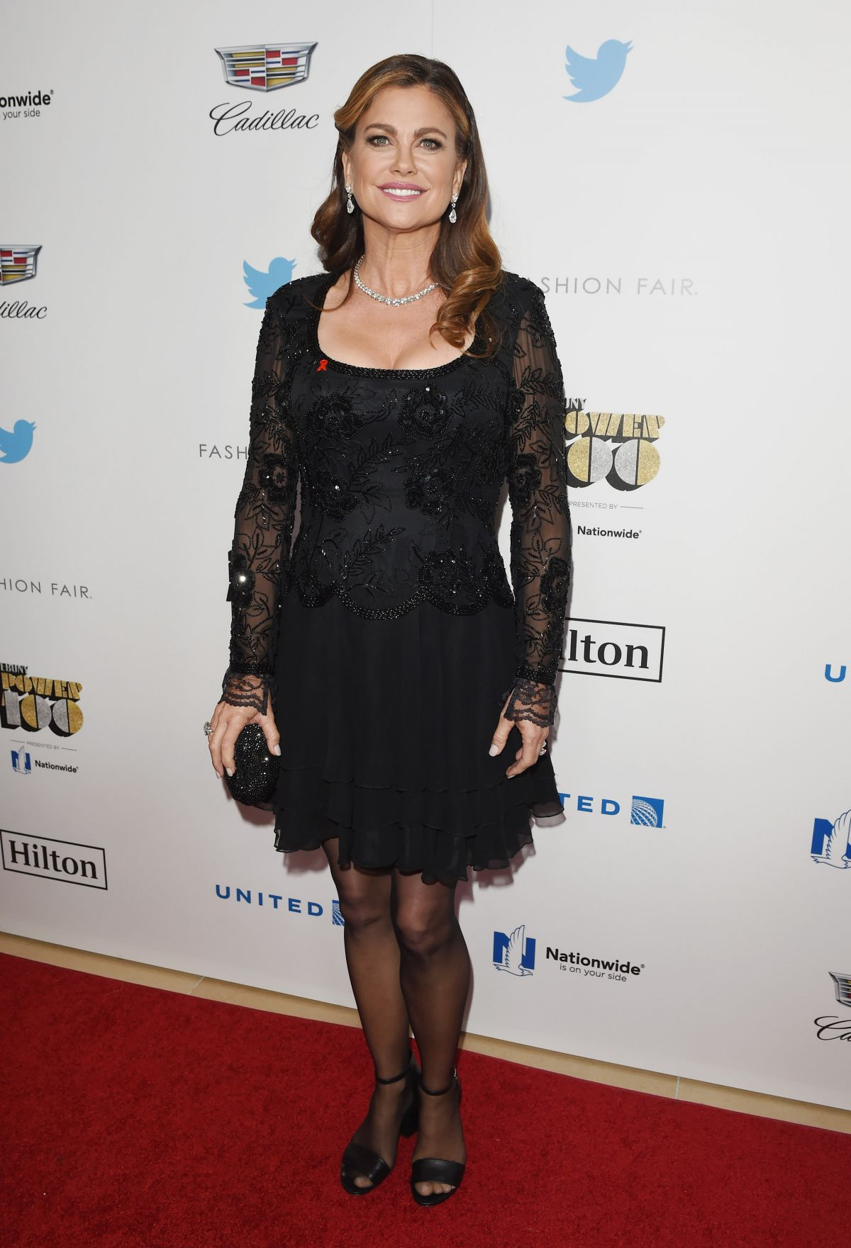 KATHY IRELAND at Ebony Power 100 Gala in Beverly Hills 12/01/2016