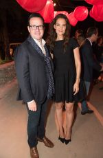 KATIE HOLMES at Reconstruction of the Universe Event by Sun Xun in Miami Beach 11/29/2016