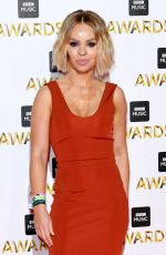 KATIE PIPER at BBC Music Awards in London 12/12/2016