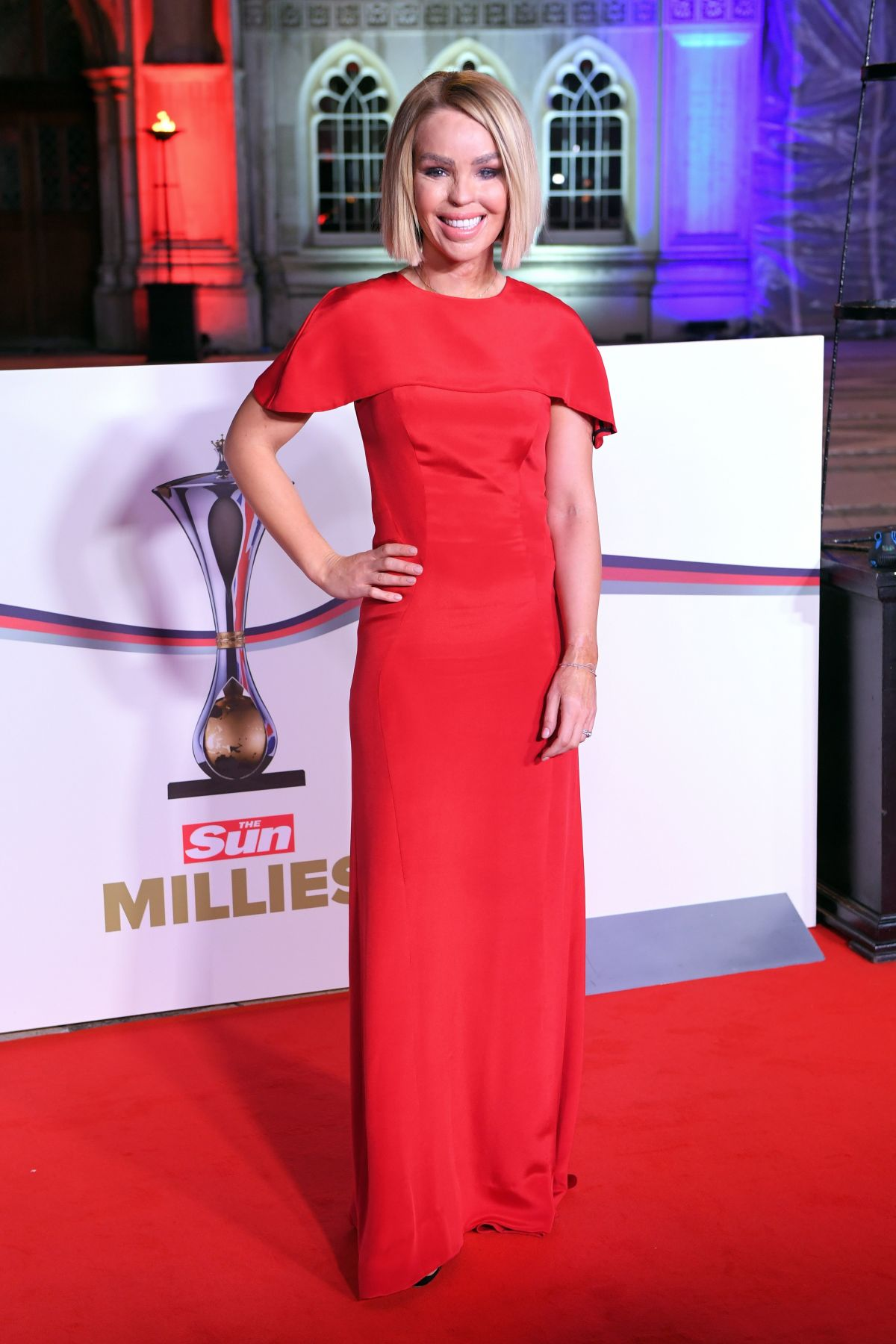 KATIE PIPER at The Sun Military Awards in London 12/14/2016