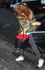 KATIE PRICE Arrives at ITV Studios in London 12/21/2016