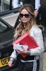 KATIE PRICE at ITV Studios in London 12/23/2016