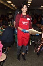 KATRINA LAW at Los Angeles Mission Christmas Celebration 12/23/2016