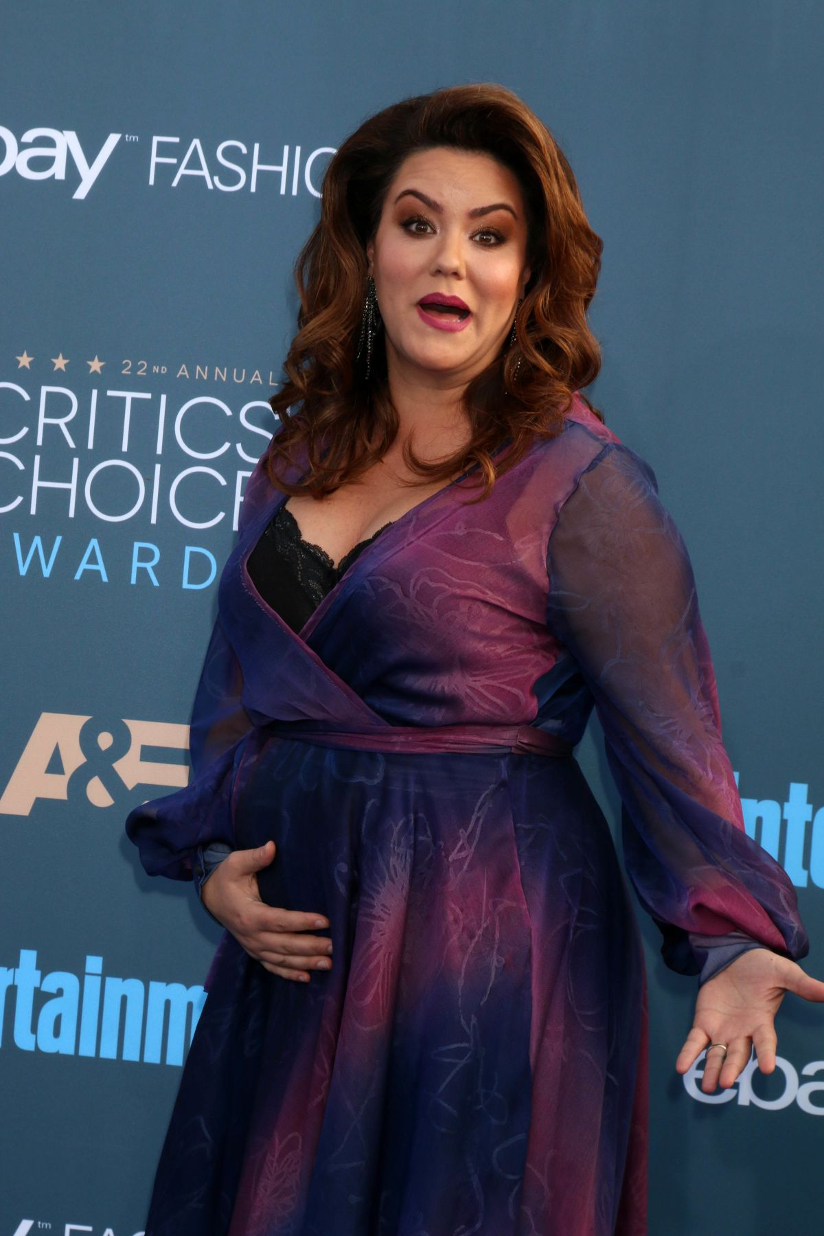 KATY MIXON at 22nd Annual Critics' Choice Awards in Santa ... Katy Mixon