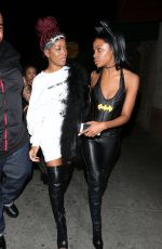 KEKE PALMER at Rae Sremmurd's Birthday Party in Los Angeles 12/29/2016