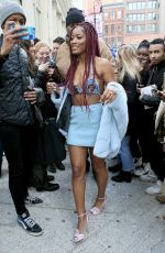 KEKE PALMER in Bikini Top Out in New York 12/16/2016