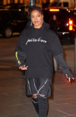 KEKE PALMER Night Out in New York 12/14/2016