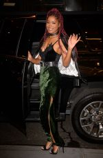 KEKE PALMER Night Out in New York 12/15/2016