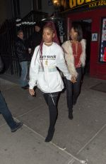KEKE PALMER Night Out in New York 12/17/2016