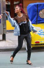 KEKE PALMER Out and About in New York 12/14/2016