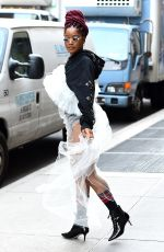 KEKE PALMER Out in New York 12/16/2016